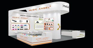 Music Angels exhibit in Hong Kong, the new smart audio is released for the first time